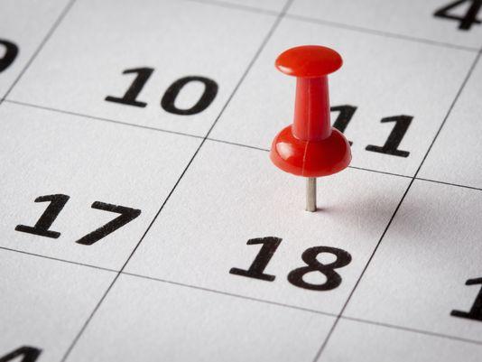 pin date in calendar