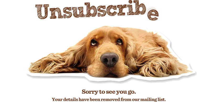 unsubscribe-dog