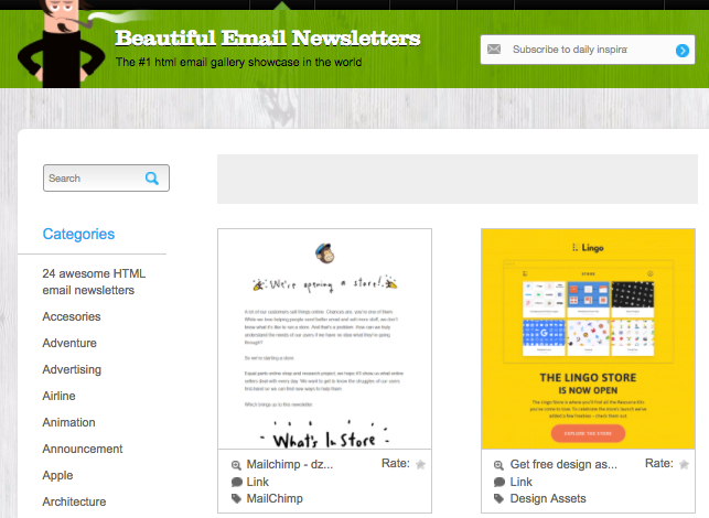 Beautiful Email Newsletters platform