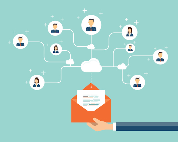 business email marketing content connection on people